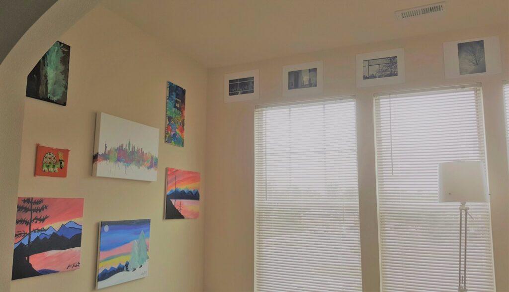 Wall Art in My Workspace